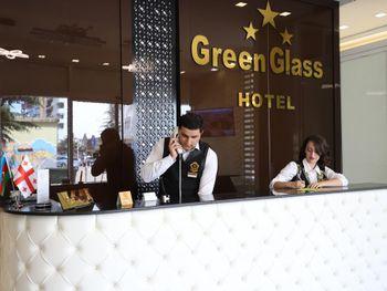 GREEN GLASS 3*